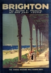 Rail poster to promote the 'Famous Sheltered Walk, Madeira Drive'