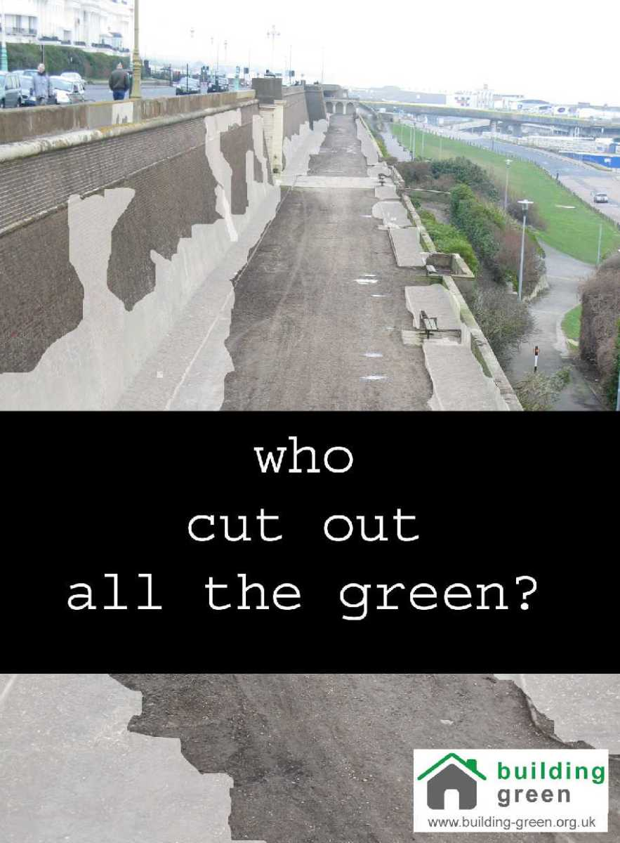 Building Green poster