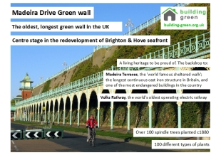 Madeira Drive A5 leaflet Building Green 1509