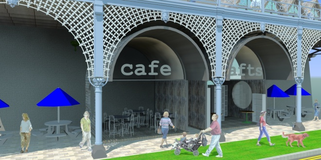 Commercial units coujld be established under the Madeira Terrace
