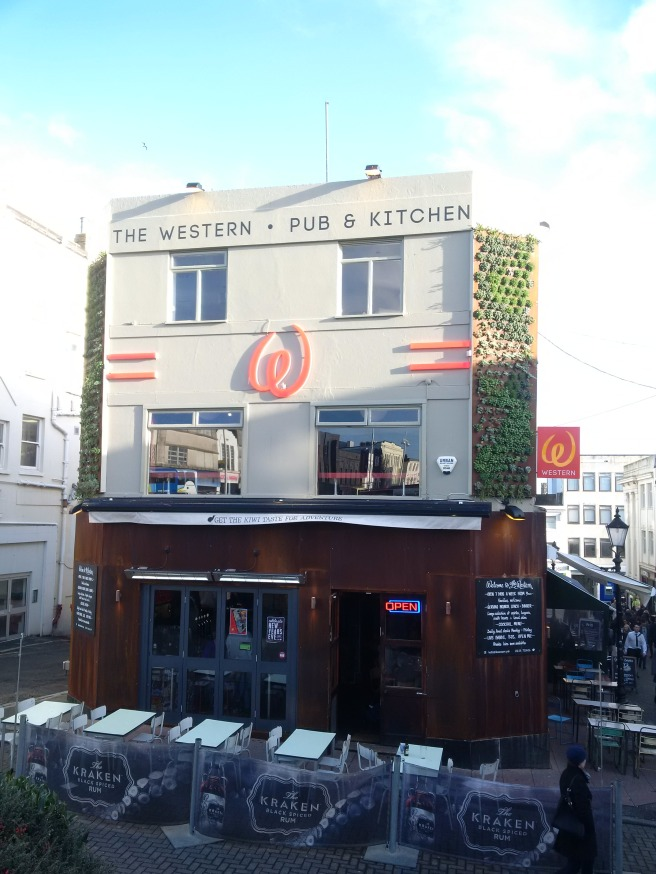 The Western pub and kitchen, Churchill Square