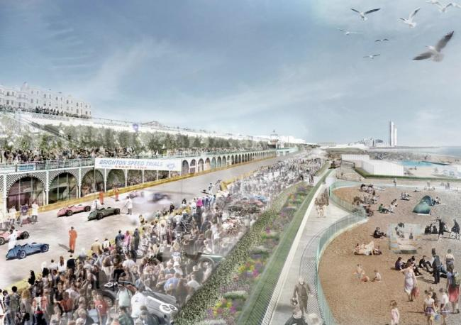 The £24 million 'Lockwood Project' to restore East Brighton seafront