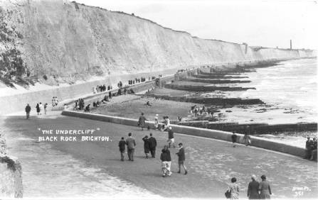 the Undercliff at Black Rock, 1930s
