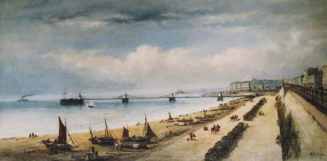 Earp, William Arthur, 1867-1927; Chain Pier, Brighton, East Sussex