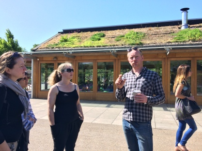 Learning about green roofs in the flesh - the good and the less good